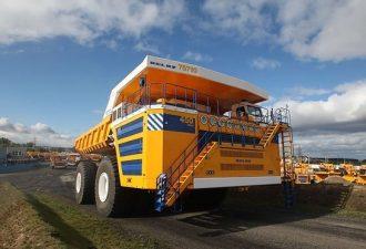 Белаз 450 тонн - самый большой Белаз!