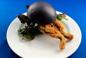 В Японии продают бургеры с лягушками