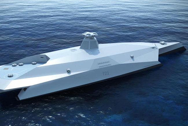 В Англии представлен проект военного корабля будущего