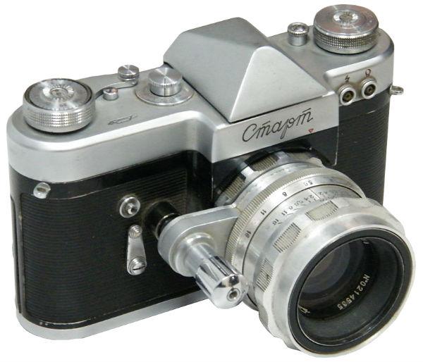 Однообъективный зеркальный фотоаппарат СССР