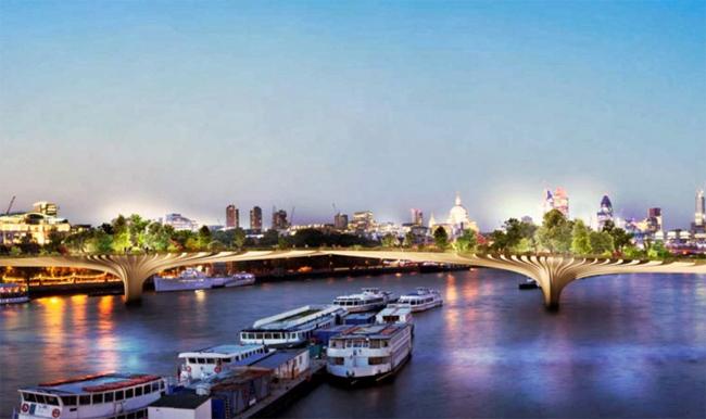 Представители рабочей группы по строительству надеются, что приступят к строительству в конце 2015 года, а первые прогулки по необычному мосту можно будет совершить в 2018 году.