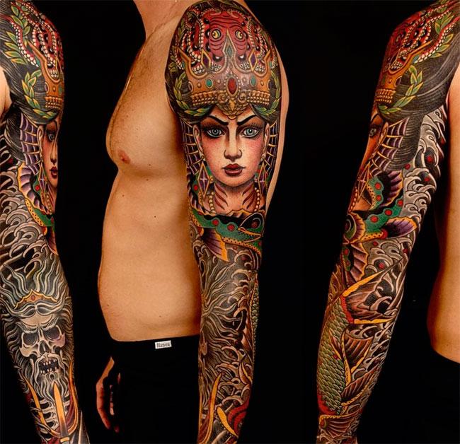 Искусство татуировки от Регино Гонсалеса 9