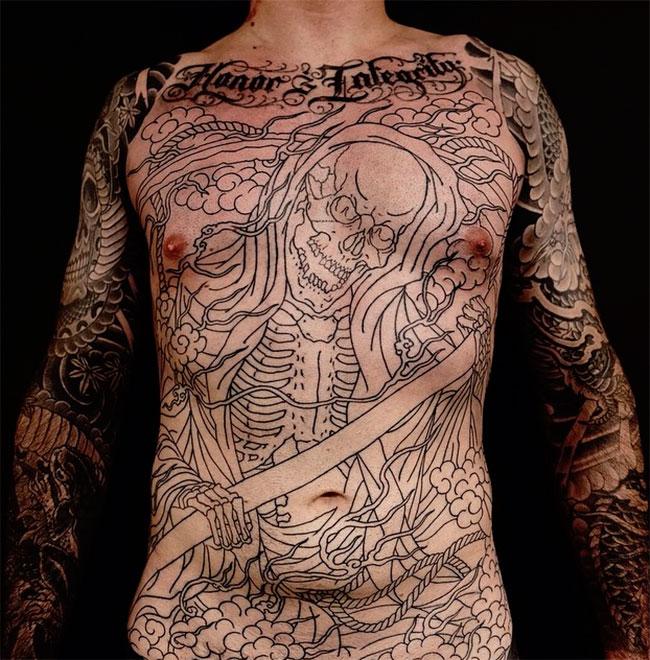Искусство татуировки от Регино Гонсалеса 3