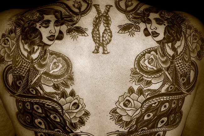 Искусство татуировки от Регино Гонсалеса 2