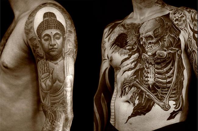 Искусство татуировки от Регино Гонсалеса 1