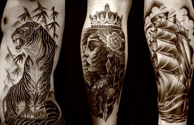 Искусство татуировки от Регино Гонсалеса 4