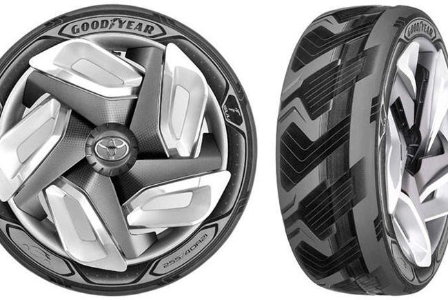 Компания Goodyear представила шины будущего