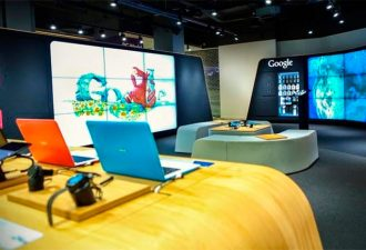 Компания Google открыла двери своего первого магазина в Лондоне