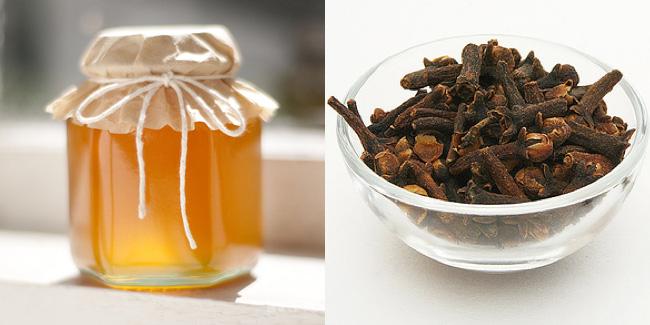 Мед с гвоздикой: против зубной боли.