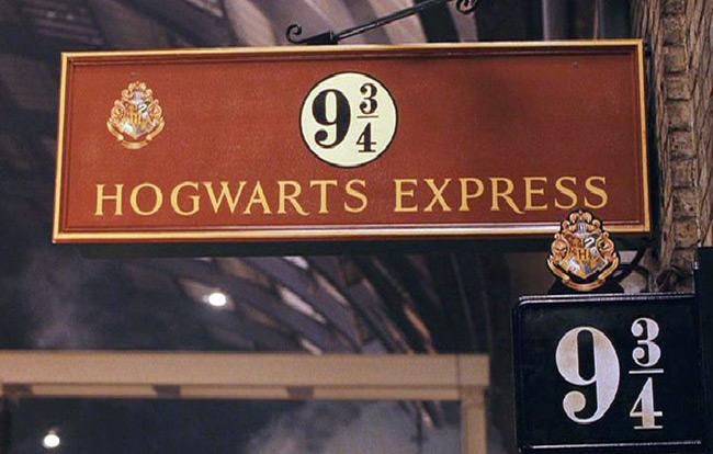 Поклонники Гарри Поттера смогут попасть на платформу 9 ¾.