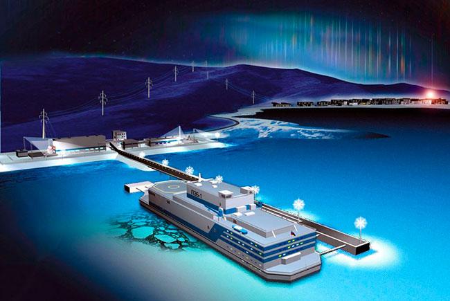 В Петербурге монтируют первую в мире плавучую теплоэнергостанцию