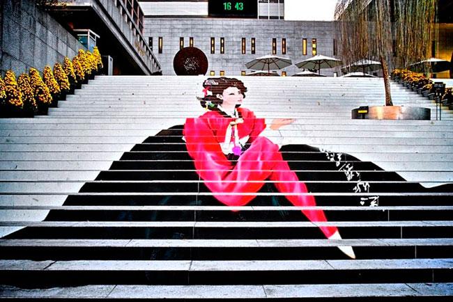 Лесенки-чудесенки: стрит-арт на лестницах городов мира