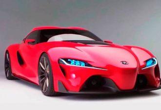Тойота Supra 2014-2015