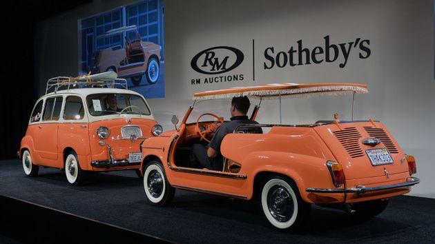 Коллекция уникальных автомобилей фото 5