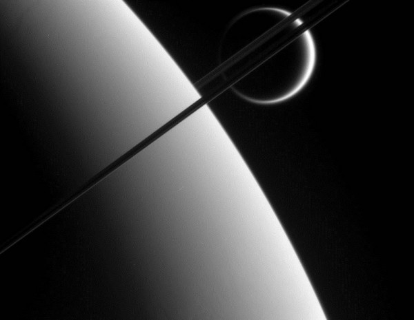 Титановые кольца Сатурна