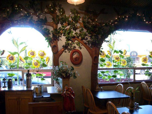 Сад Gaia's - это знаменитый ресторан