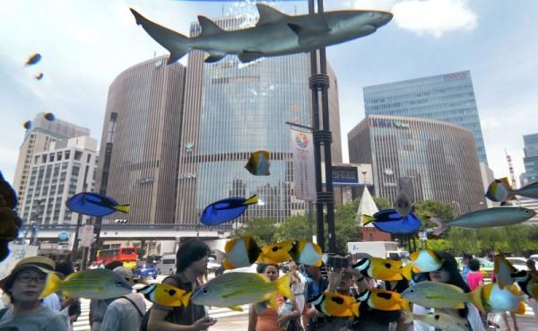 Выставочный аквариум