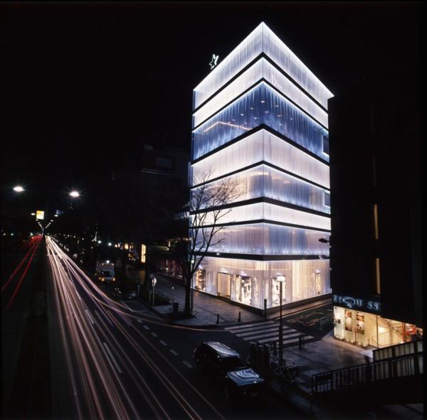 Христианский магазин Dior, Омотесандо, Токио