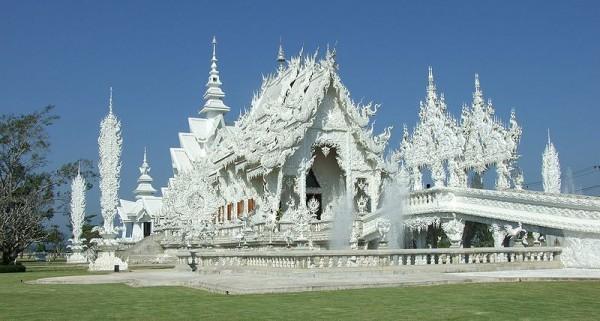 Wat Rong Khun, Chiang Rai, Тайланд
