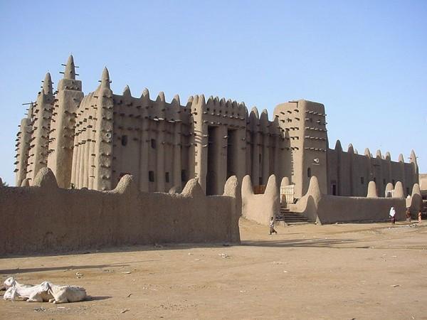 Великая мечеть, Дженне, Мали