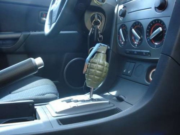 Оригинальные ручки переключения передач в авто