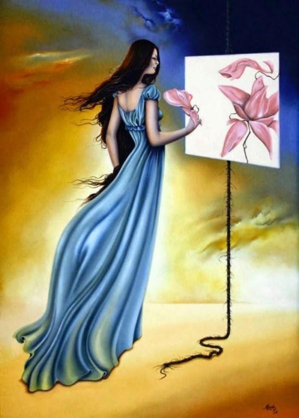 Удивительные картины женской фигуры фото 8