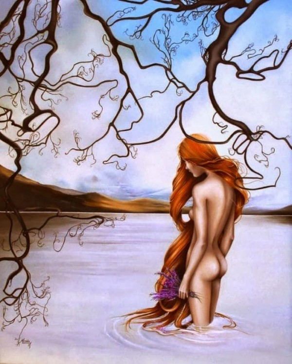 Удивительные картины женской фигуры фото 2