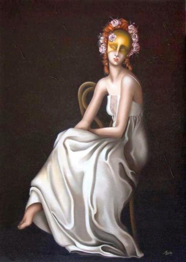 Удивительные картины женской фигуры фото 3