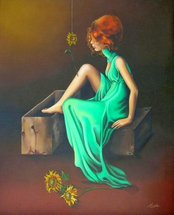 Удивительные картины женской фигуры фото 6