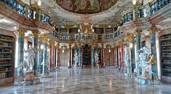 БиблиотекамонастыряВиблинген(Виблинген,Германия)
