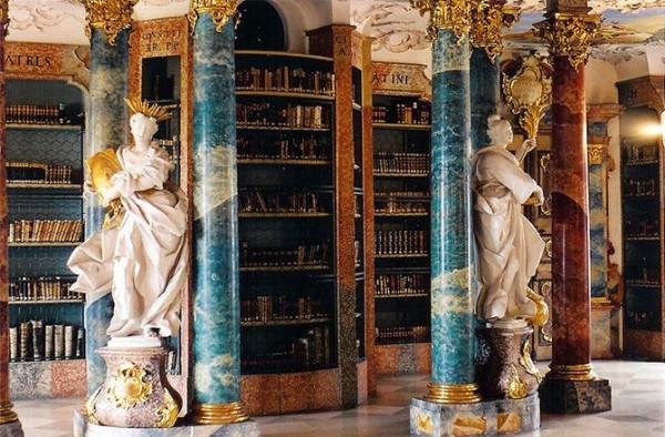 БиблиотекамонастыряВиблинген