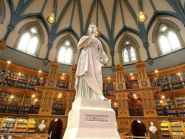 Библиотека парламента в Оттаве