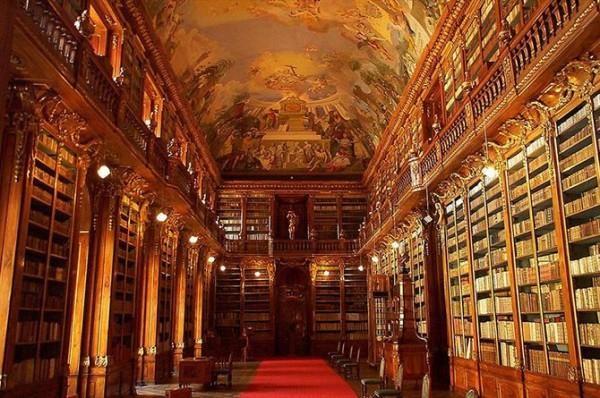 Библиотека страговского монастыря в Праге, Чешская Республика