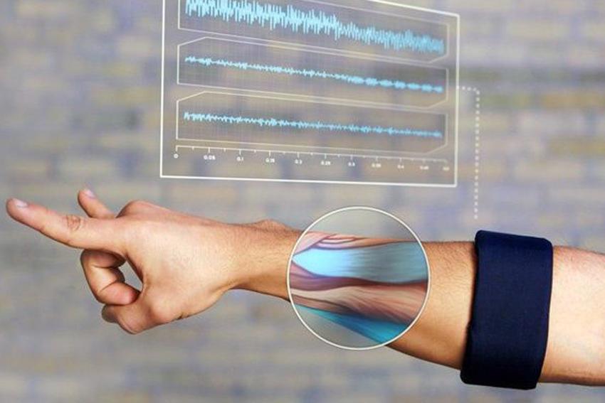 Браслет для фиксации активности в мышцах