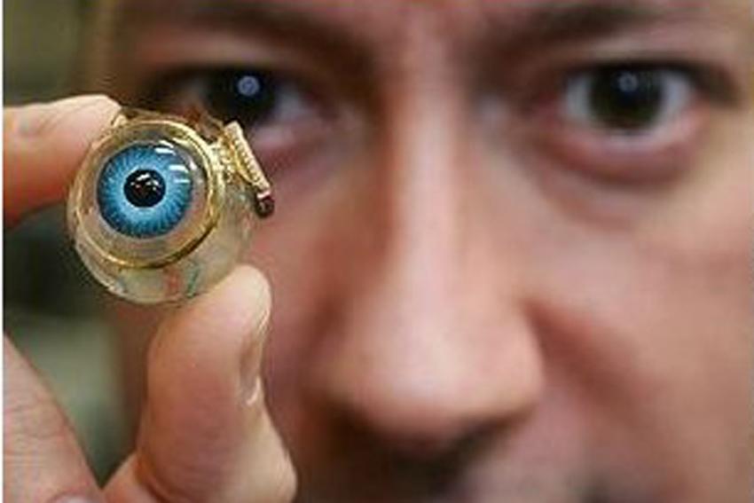 Глазной видеоимплантант