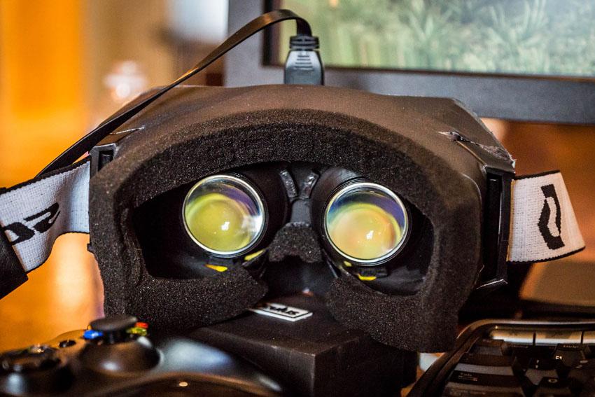 Oculus Rift - гарнитура виртуальной реальности