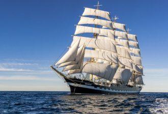 Самые большие парусные корабли