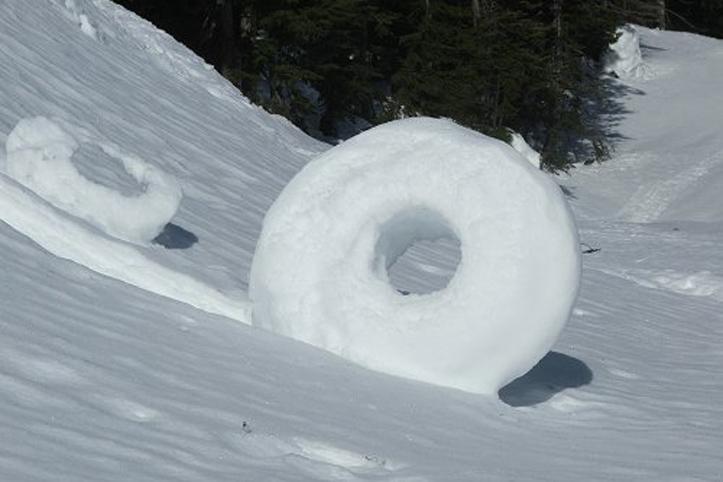 Снежные пончики