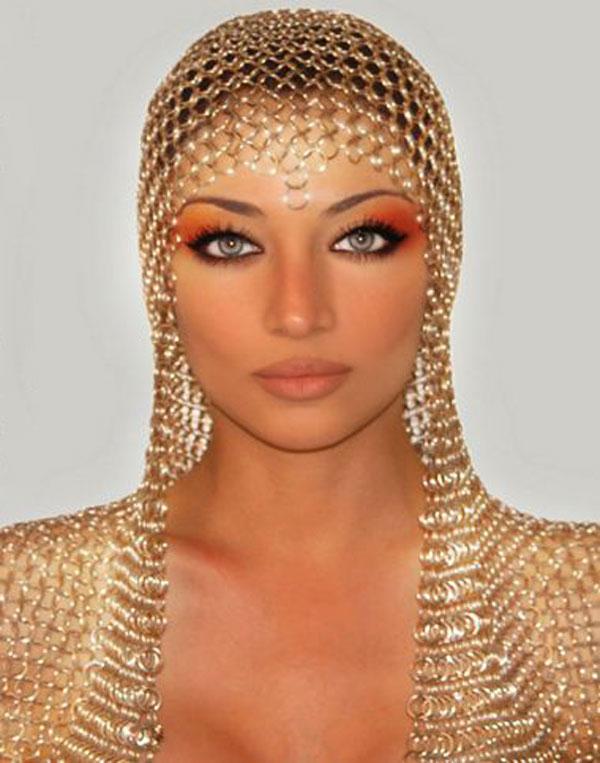 Клаудия Линкс «Богиня Персии»-певица, актриса и модель