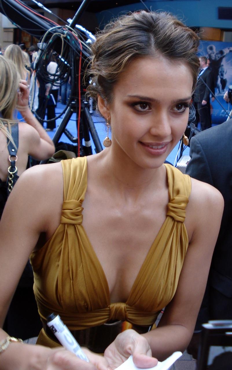 Джессика Альба-американская актриса