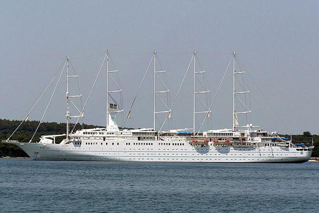 корабль Винд Сурф (WindSurf)