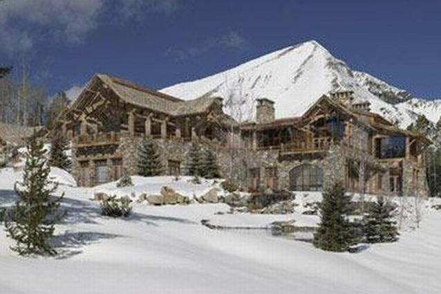 Лыжный домик миллиардера из Монтаны Тима Бликсета