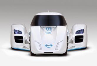 Самый быстрый электромобиль «Nissan ZEOD RC»